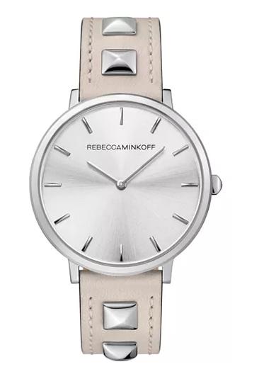 Wearing a Watch - Studded Watch