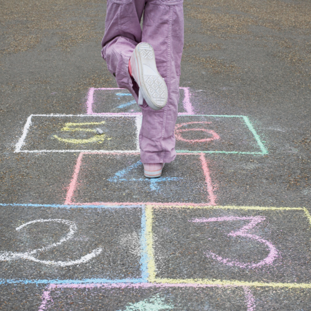 Hop Scotch for Kids to PLay