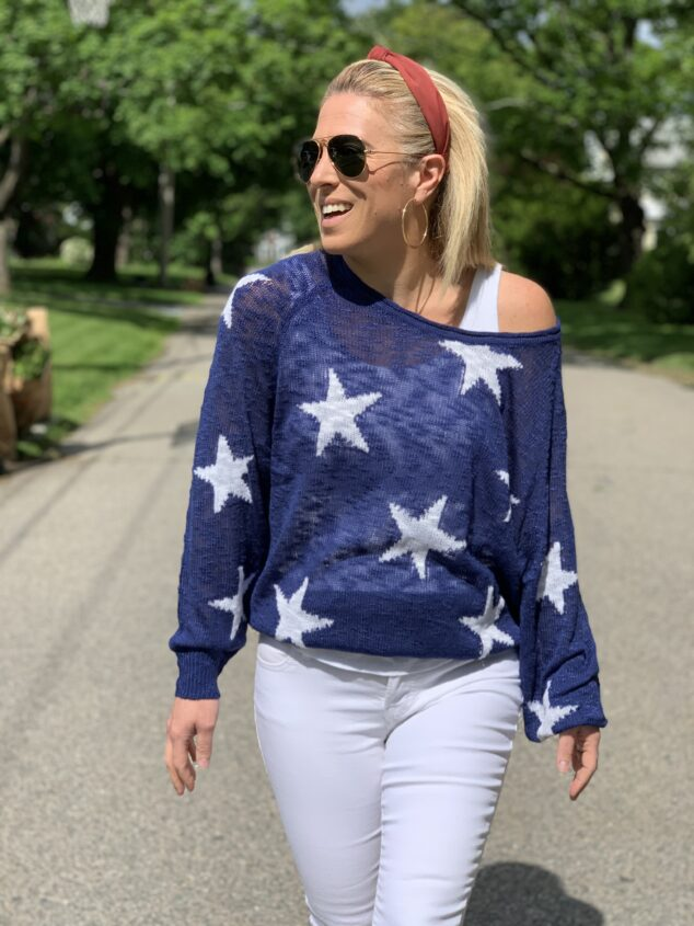 Star Sweater - Summer Sweater Option