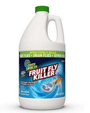 Green Gobbler Fruit Fly Goodbye Gel Drain Treatment