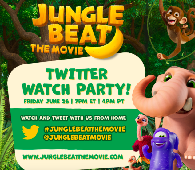 Jungle Beat The Movie | Twitter Watch Party