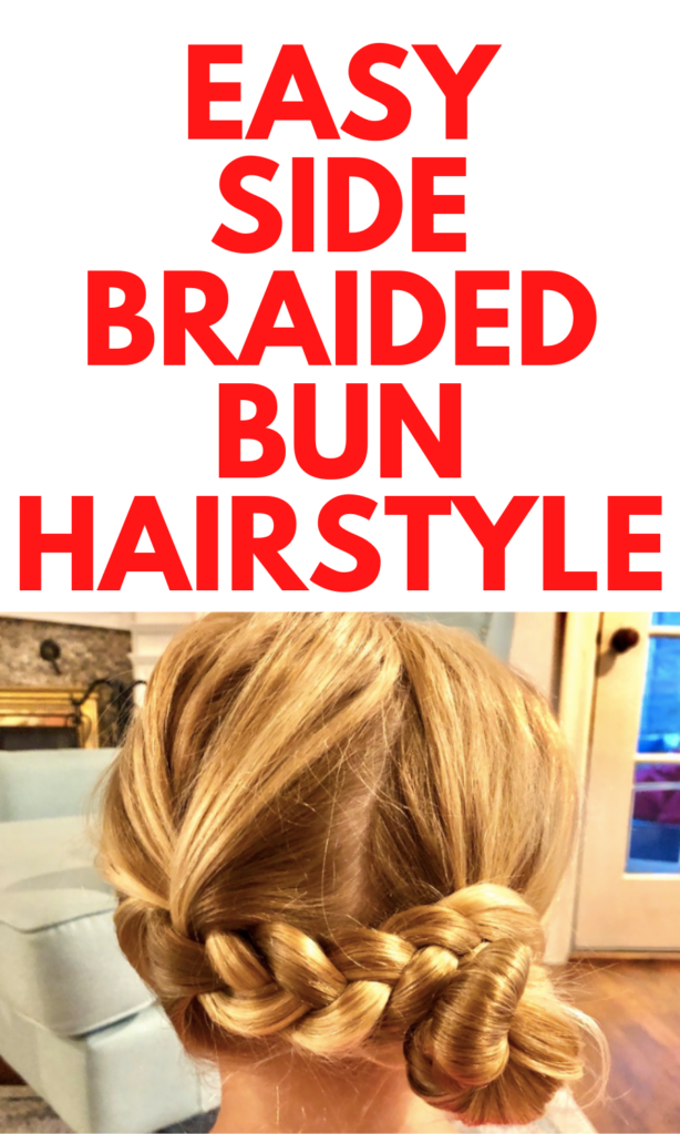 Side Braid Bun Tutorial
