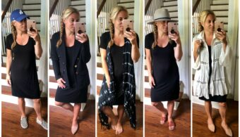 How to style t shirt dress