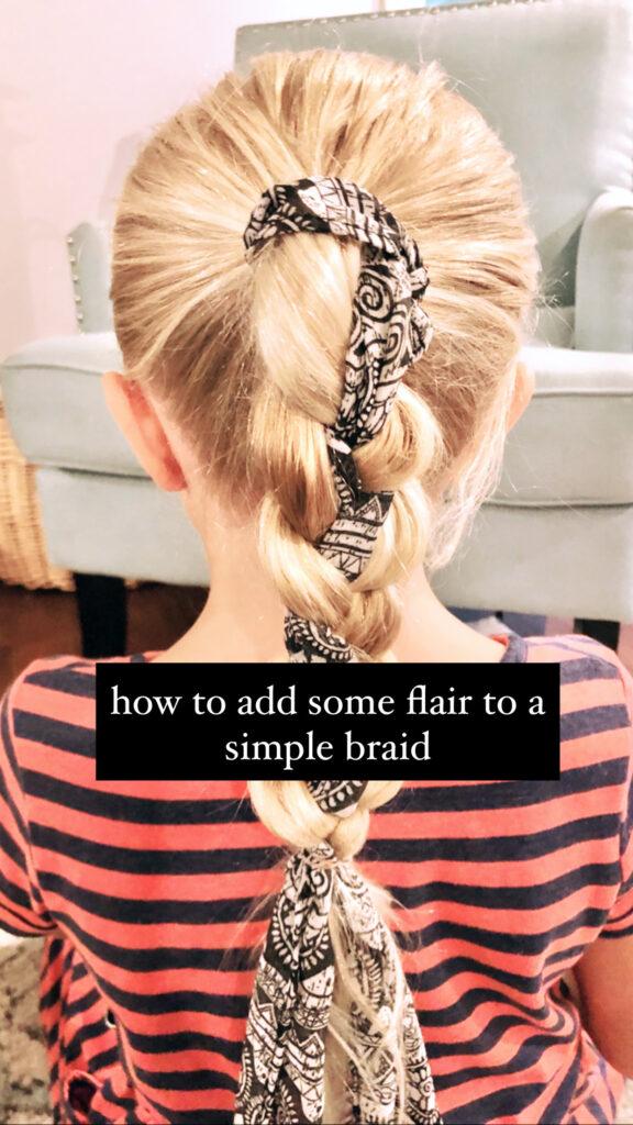 Super Easy Braid Hairstyle