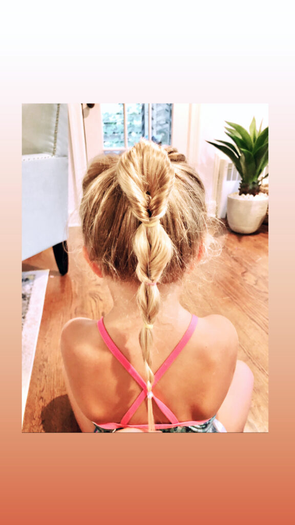7 Days of Ponytail Hairstyles for Girls