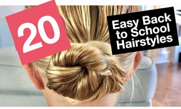 20 EASY Back to School Hairstyles for Girls