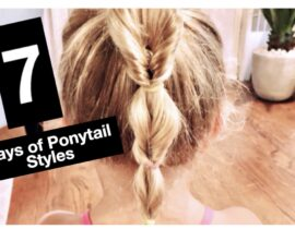 7 Days of Ponytail Hairstyles