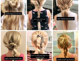 Super Easy Hairstyles for Girls