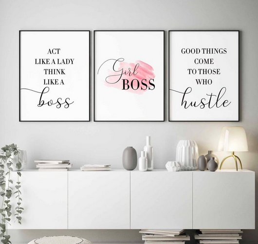 Boss lady printable