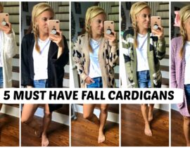 Fall Fashion Cardian Sweaters
