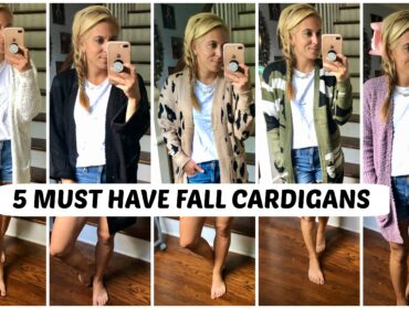 Fall Fashion Cardian Sweaters