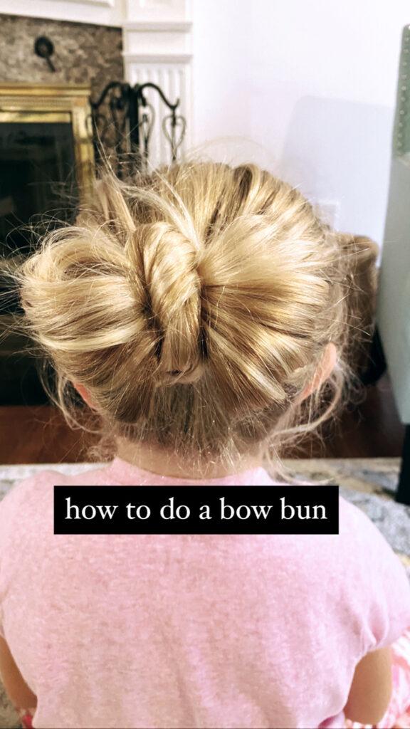 Bun Bow Tutorial