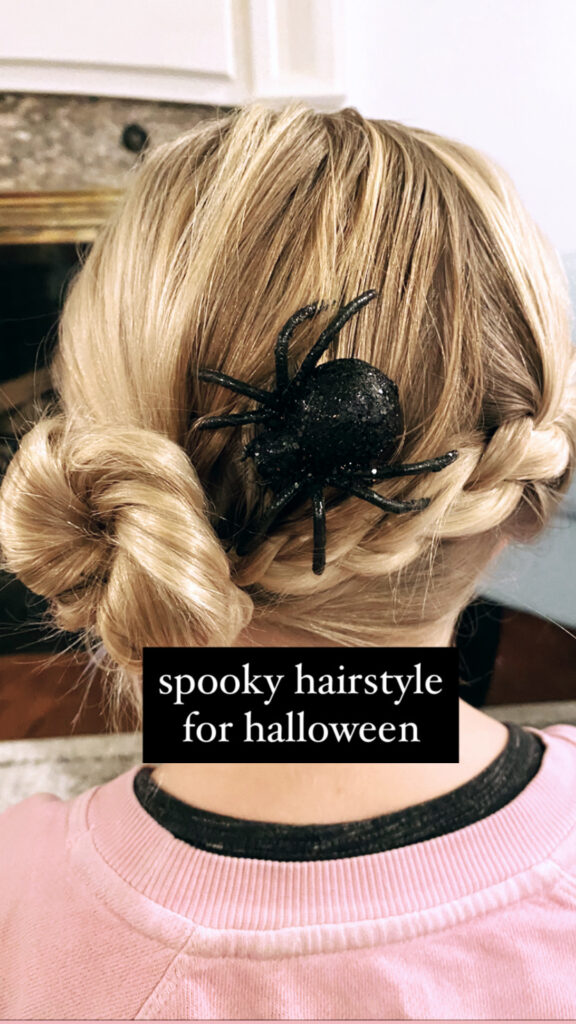 Spider Web Hairstyle