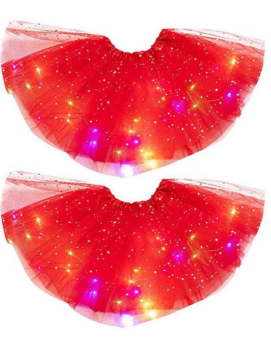 Light up tutu skirts