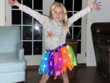 Light up tutu skirts
