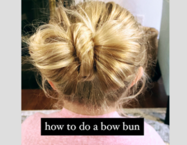 Bun Bow Tutorial