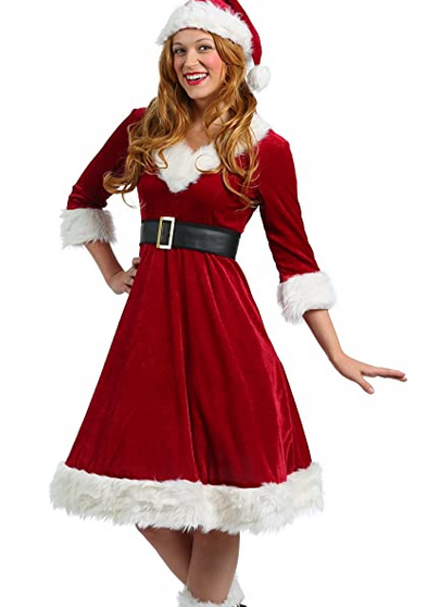 Women's Santa Claus Sweetie Costume