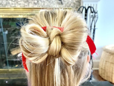 Holiday Bun Hairstyle