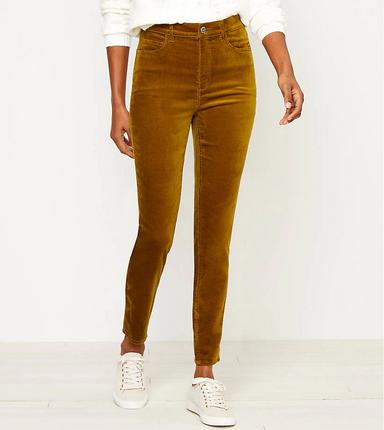 LOFT Velvet Pants