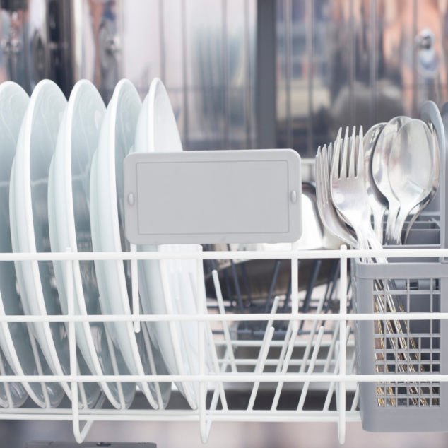 Load your dishwasher at night