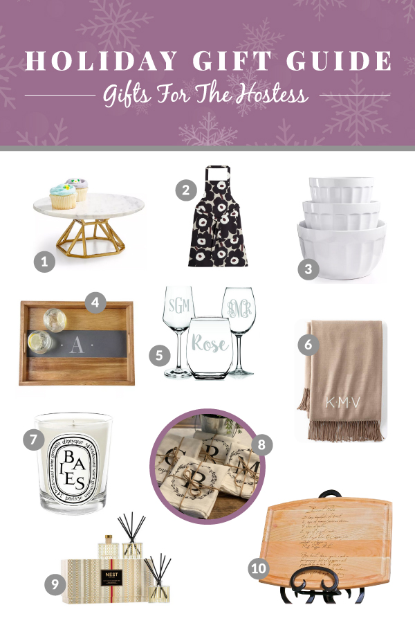 Holiday Gift Ideas for Hostess