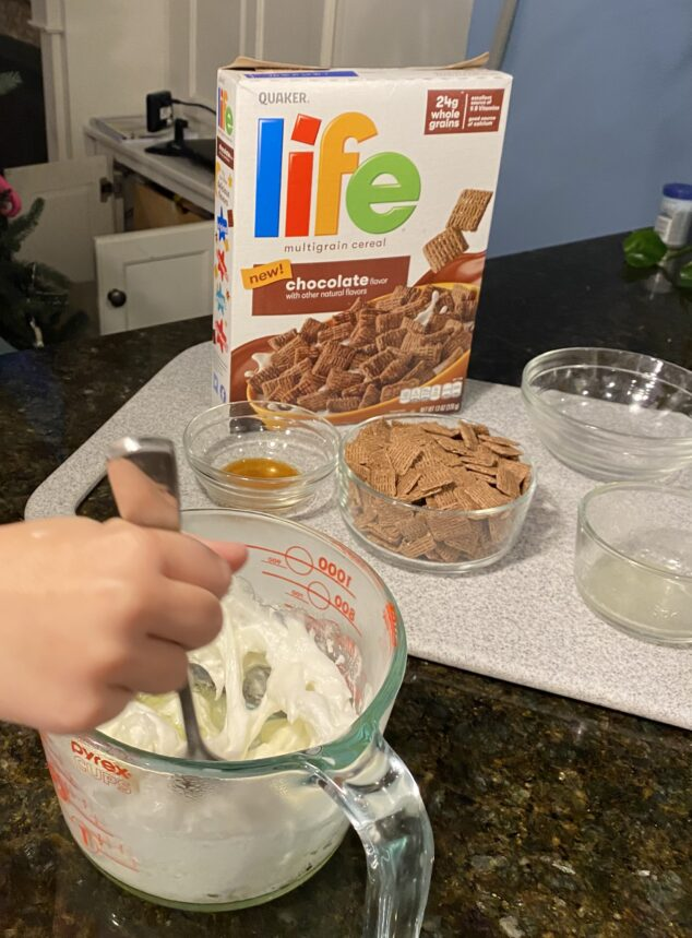 Life Chocolate Flavored Cereal S'mores Bites