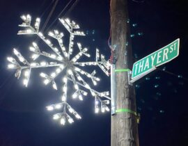 Thayer Street Providence Light Up Night