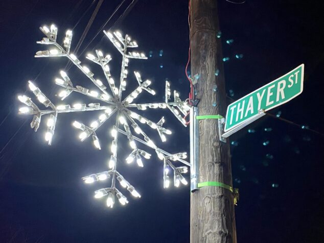 Thayer Street Providence Light Up Night