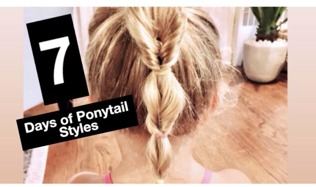 ponytail tutorial