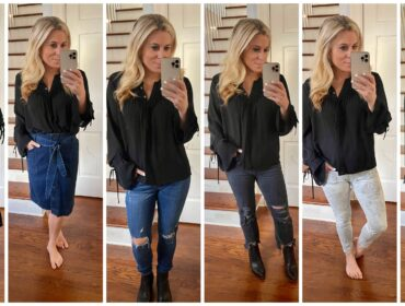 How to style a look for work