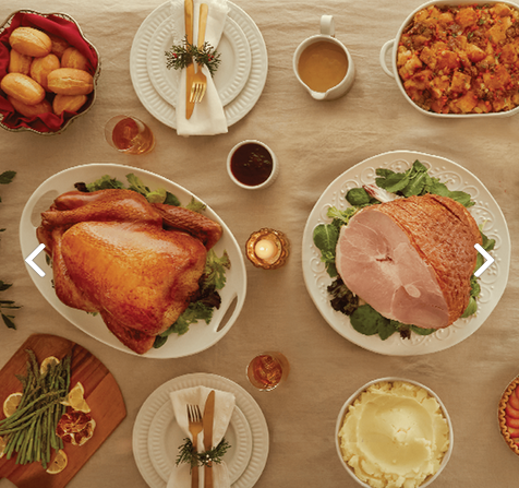 Holiday on the Farm Spiral Ham and Whole Turkey Combo