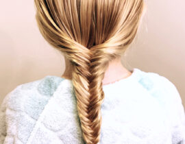 Step by Step Fishtail Braid Tutorial