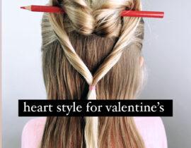 Valentine's Day Hairstyle