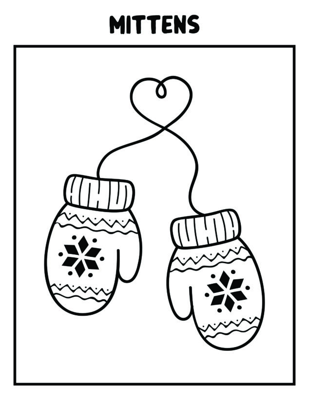 January Coloring Pages for Kids - 6 FREE ONES - Mom ...