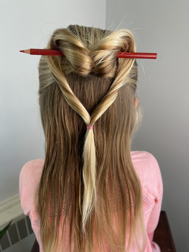 Cute Heart Hair