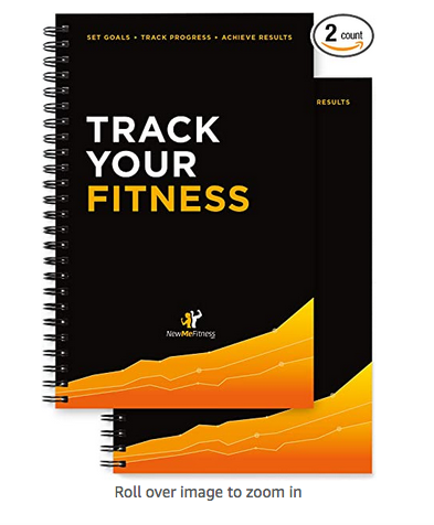 Workout/Fitness and/or Nutrition Journal/Planners - Designed by Experts, w/Illustrations