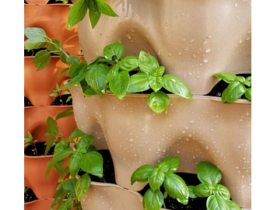 Garden Tower® 2: 50-Plant Composting Vertical Garden Planter