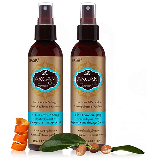 HASK Repairing ARGAN OIL 5-in-1 Leave In Conditioner Spray