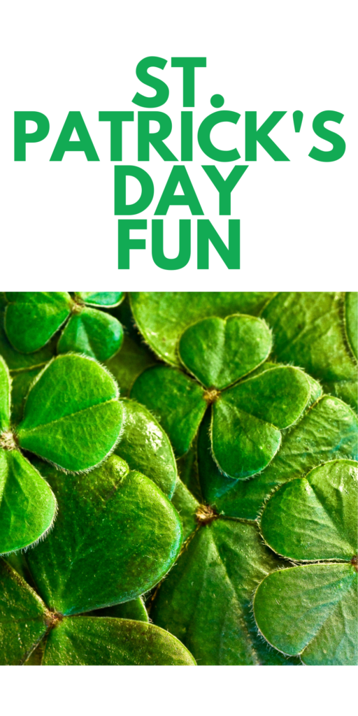 Activities for Kids to do for St. Patrick's Day