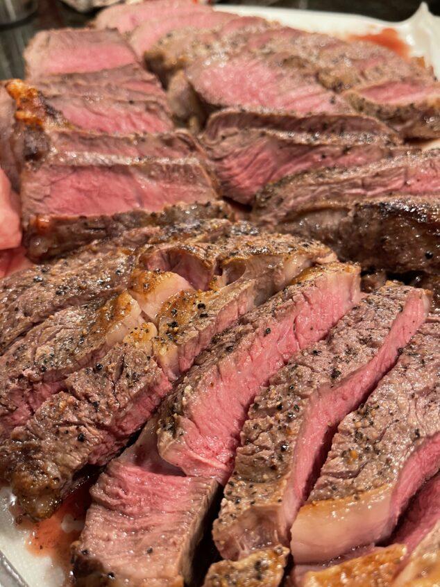 Niman Ranch Steak Dinner