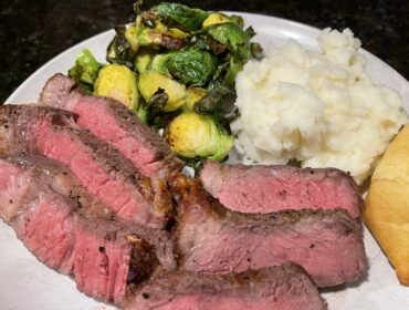 Niman Ranch Steak Dinner