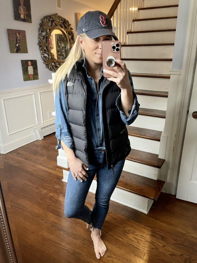 What to wear with a puffer vest