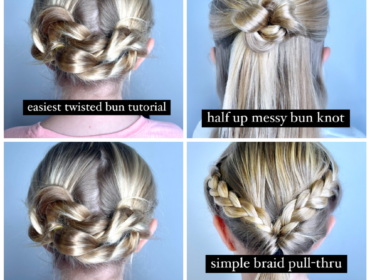 DIY Hair Tutorials for moms
