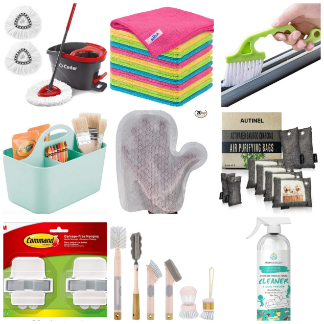 Spring Cleaning Cleaning Tools And Supplies