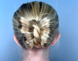 Butterfly Bun Hairstyle