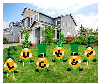 St. Patrick's Day Yard Sign Outdoor