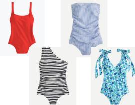 J.Crew Swimwear for Moms